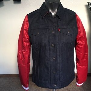 49ers Levi's denim jacket